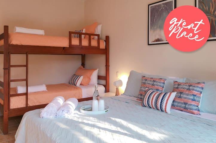 ☀ Pelicano Suite @ Casa Brisa ☀ / 4 PPL Bungalow
