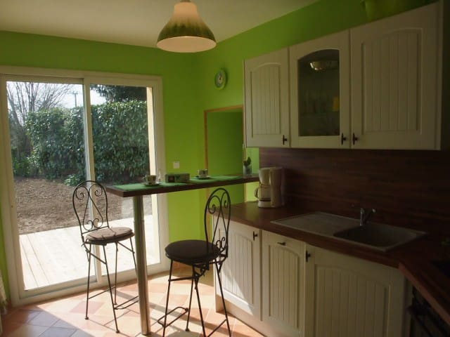 Pied à terre zen en Normandie - Périers - Huis