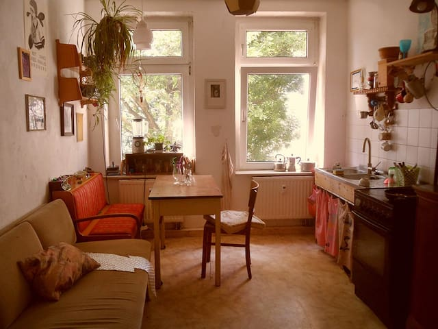 cozy room in the diversified part of leipzig