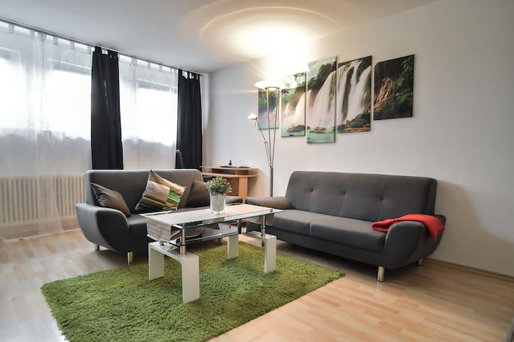 Ruhige ELW voll ausgestattet mit 3 Zimmer & 60m²