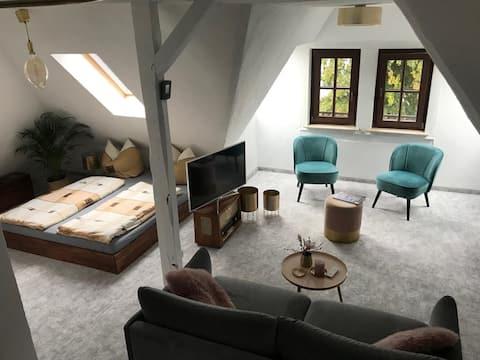 Loft Apartment mit Stil, zentrumsnah und einladend