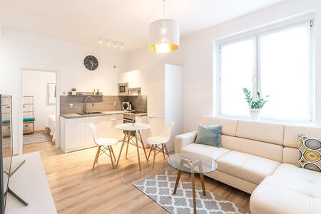 Biały apartament / White apartment