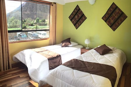 Villa San Román-Double room - Ollantaytambo - Penzion (B&B)