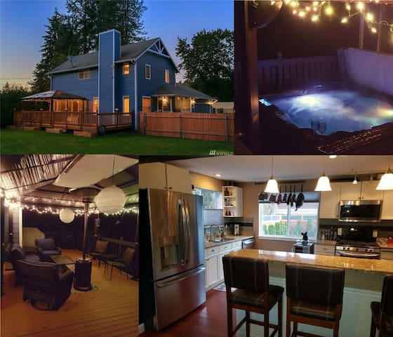 Very Private, Tranquil, Newly Remodeled w/ Hot Tub