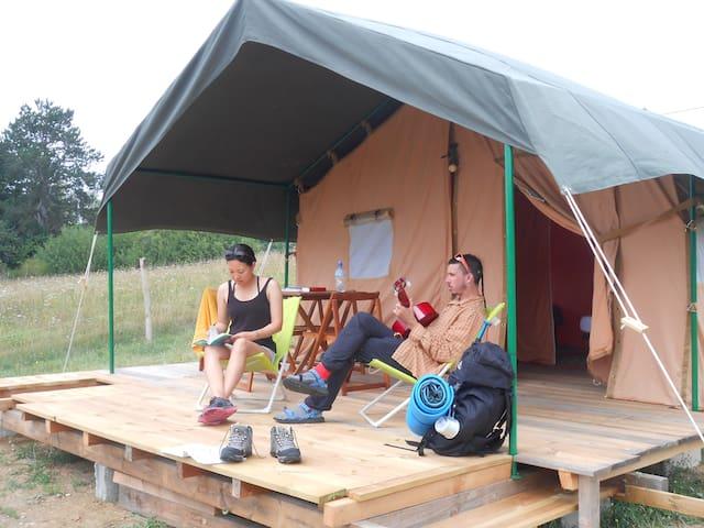 """Tente lodge 2 """" Bambou"""""""