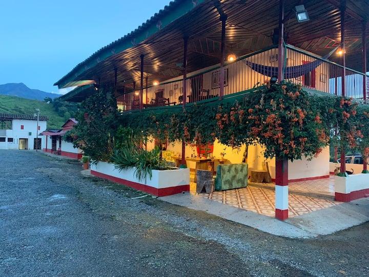 Hacienda La Pradera habitacion privada