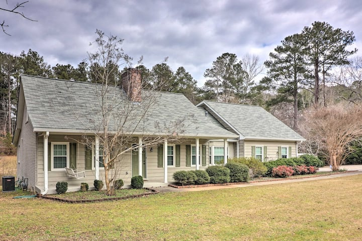 Fayetteville Home ~5 Mi to Pinewood Studios!