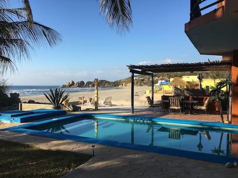 Beachfront Villa C/W Private Pool