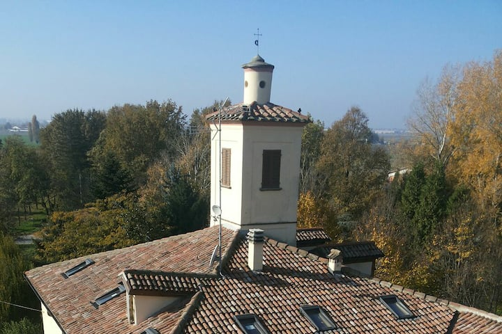 Torre di Longara: confort e relax poco fuori città