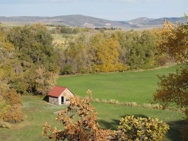 Fall views - bringing the cows home from the high country