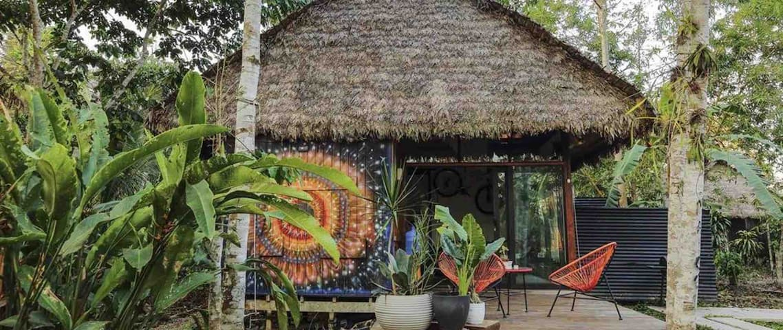 Beautiful Private Cabin in Amazon -Breakfast Incl.