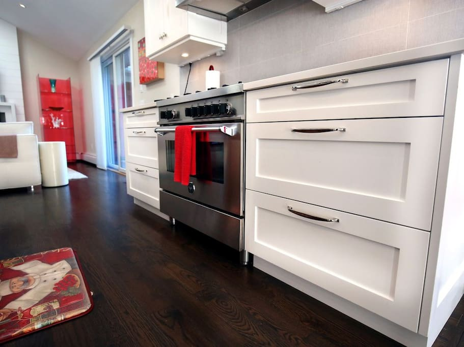 Luxury Appliances with Custom Cabinets