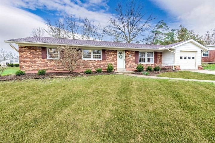 Open concept ranch-style home in Oxford, OH