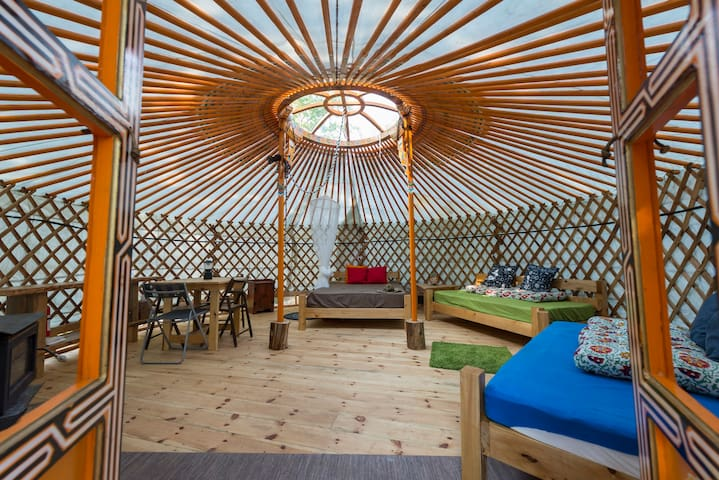 MONGOLIAN YURT at Terra Perma