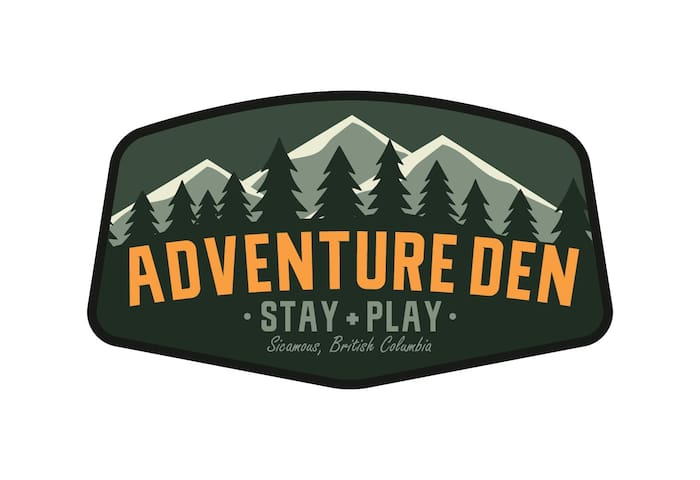 The Adventure Den. Stay + Play Sicamous