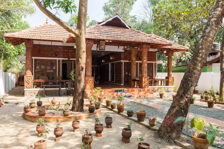 A Perfect family-friendly homestay in Marari..!