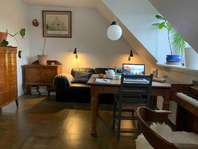 Functional, cosy & clean loft apartment