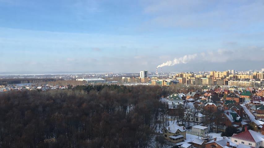 Уютная однокомнатная квартира в новом доме, Казань - Казань - อพาร์ทเมนท์