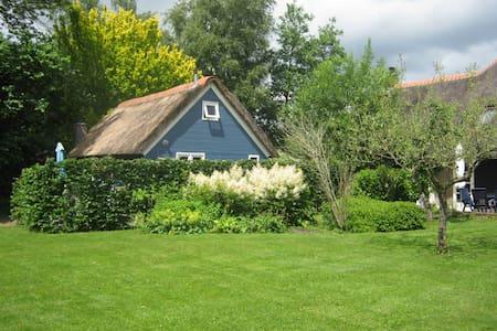 De Zuiderhof Giethoorn Blauwe huisje