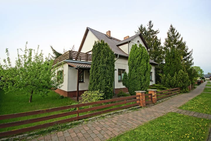 Spacious Apartment in Mönkebude with Private Garden