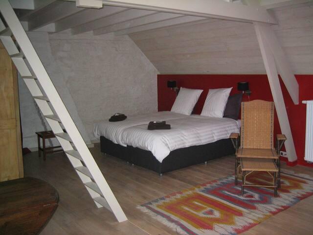 Genieten in luxe studio in Vlaamse Ardennen.