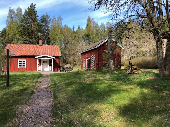 Lovely Swedish Summerhouse In The Wild Nature