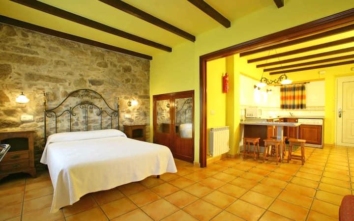1 Dormitorio para 4 personas a 200 m de la playa.