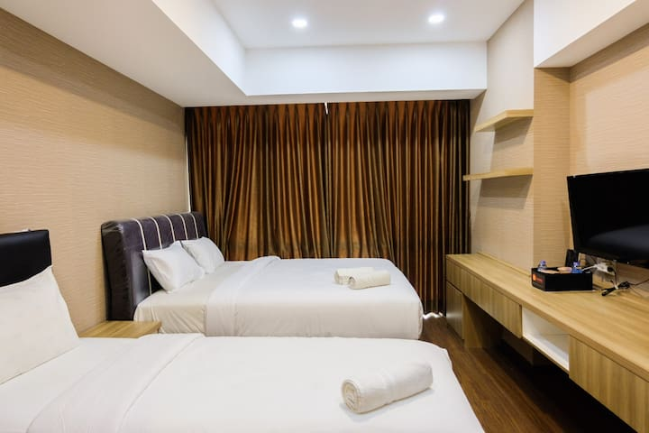 U Residence Studio Apartment for 3 Pax