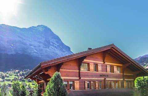 Izvrstan stan stan s fantastičnim pogledom na Eiger!