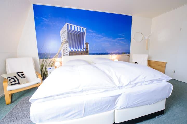 Doppelzimmer Komfort inkl. Frühstück auf Rügen