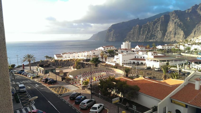Nice flat with amazing view and wifi! - Santiago del Teide - Apartment