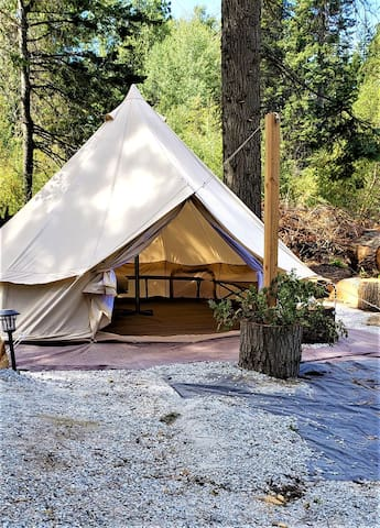 YURT/Glamping for beginners, or experts!