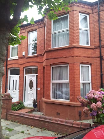 Excellent double bedroom with en-suite - Aigburth
