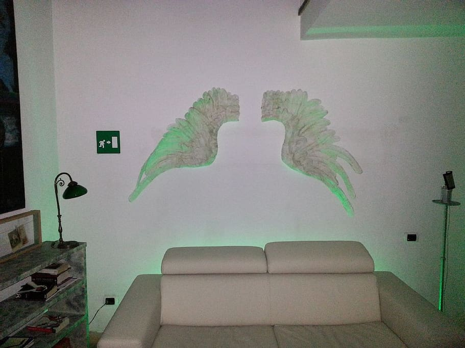 "Some guest call it "" Angel home"""