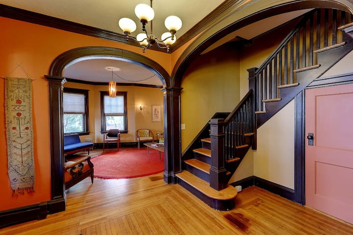 Large, Stylish Duplex in Historic Elmwood
