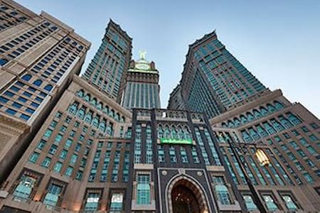 7 nights at Zamzam Grand hotel; great Kaaba view - Mecca - Apartment-Hotel