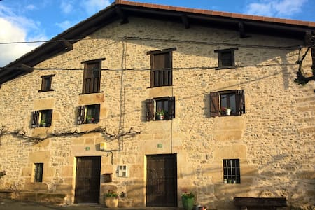 1.Traditional house in area Gorbea, Basque Country - Manurga - บ้าน