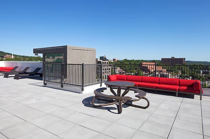 Sublease furnished modern apt near Dickson/campus - Fayetteville - Apartamento