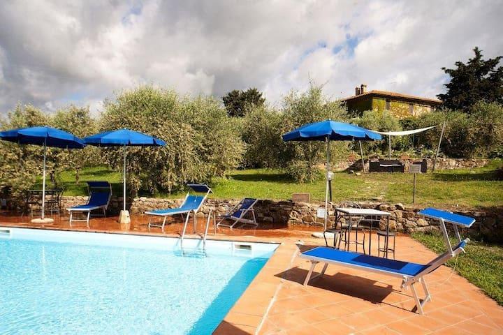 agriturismo nel chianti  con piscina - Castellina in Chianti - Appartement