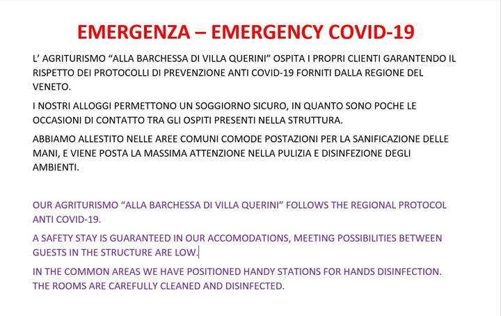 OPEN! Villa Querini, strategic for visit Venice.