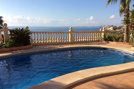 Appartement  125m2 dans villa luxueuse vue sur mer - El Campello