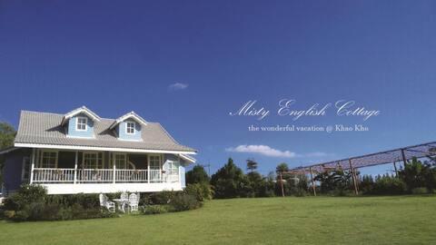 Misty English Cottage