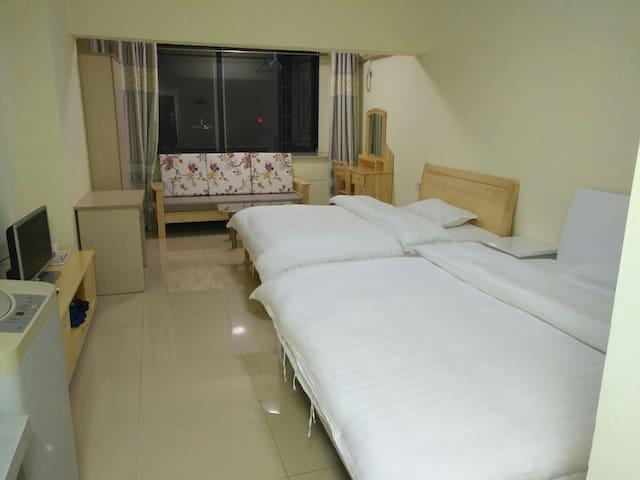 中信湘雅省博物馆附近观园公寓双床房