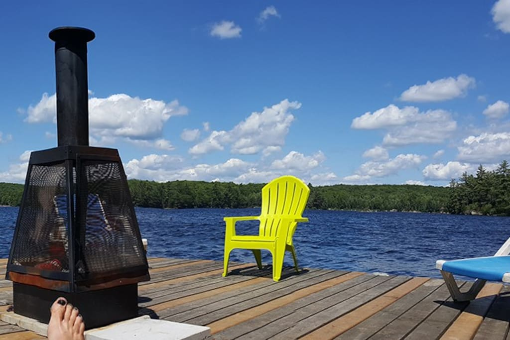 Relax in style on our great dock!