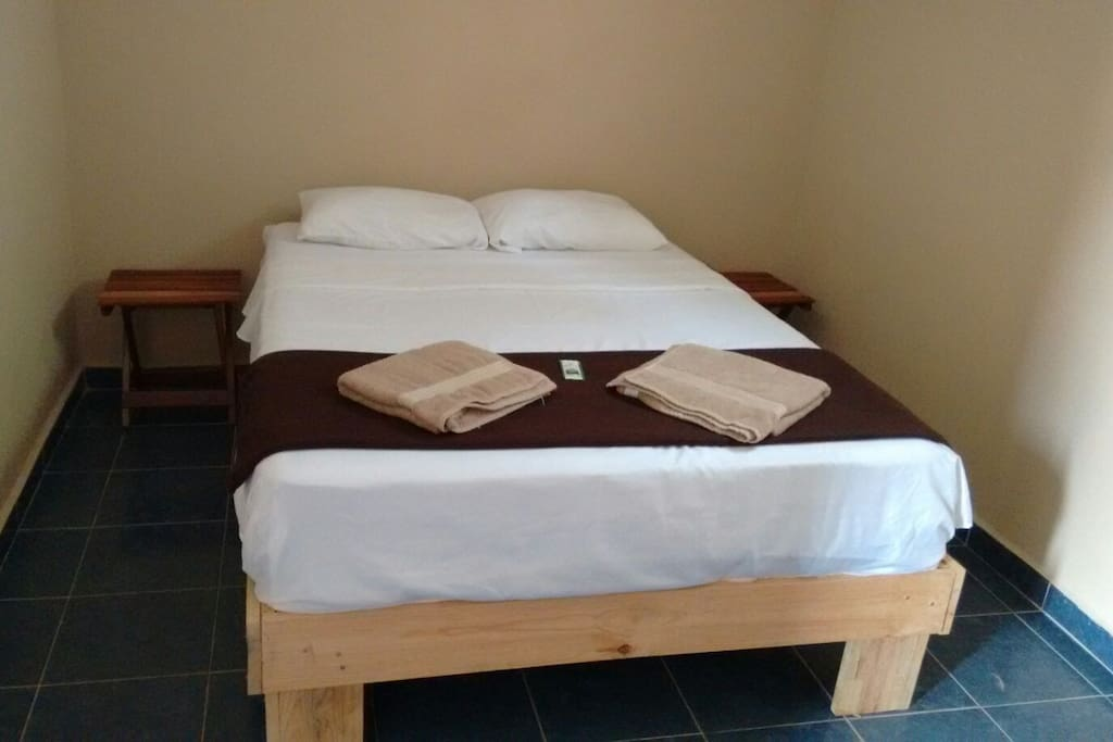 Comfty room with special mattress