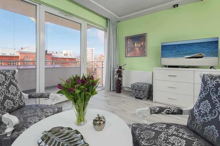 Luxury and Bright  apartment Old Town - Łak69