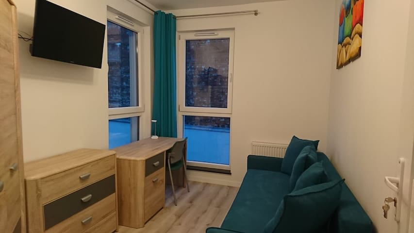 Pokój w apartamencie w Gdańsku Wrzeszczu