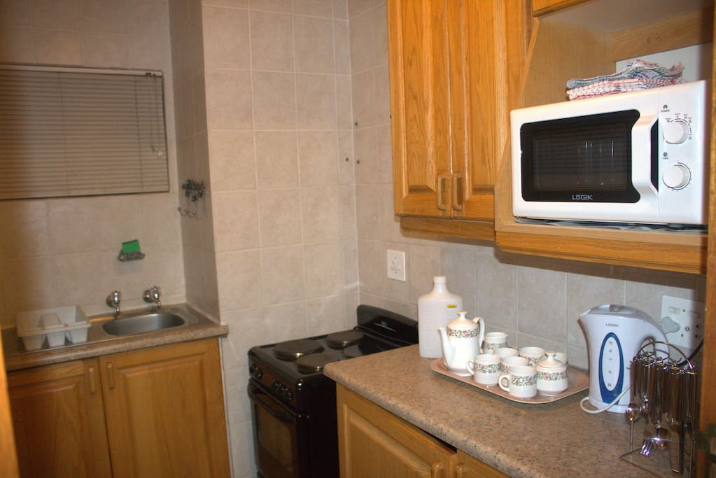 Kitchenette with self catering facilities