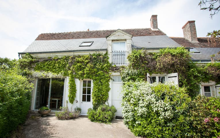 Spacious gîte (6/7p) with heated pool near Amboise