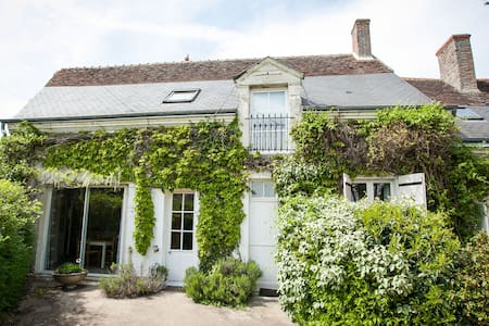 Spacious gîte with pool nr Amboise - Monteaux